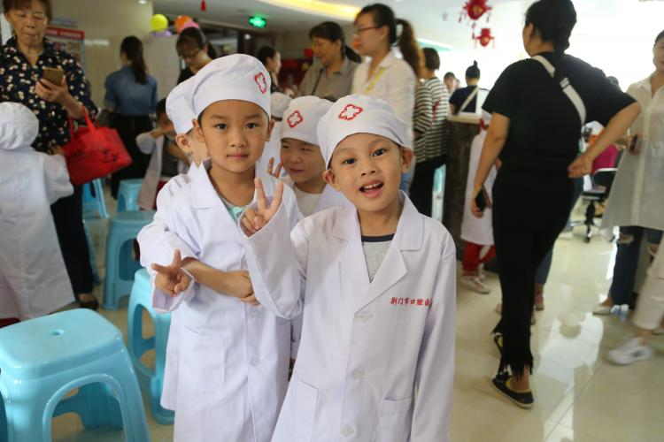 小牙医体验活动第十三期、十四期丨让孩子不再害怕看牙